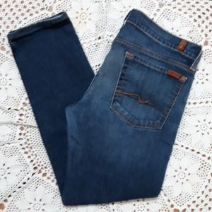 7 For All Mankind Roxanne skinny cropped jeans